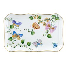 Butterfly Porcelain Tray