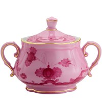 Ginori Oriente Italiano Porpora Covered Sugar Bowl