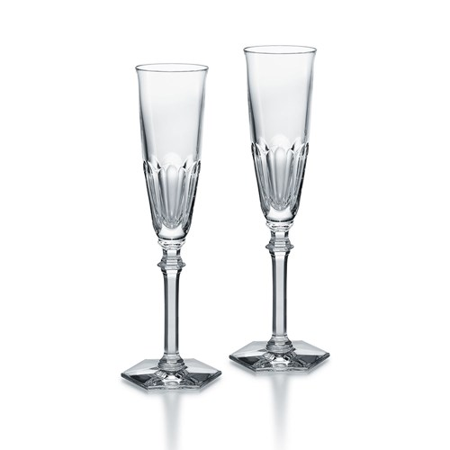 Baccarat Harcourt Eve Flutes, Set of 2