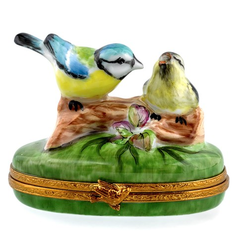 Bird Couple Limoges Box