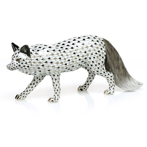Herend Reserve Silver Fox