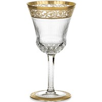 St. Louis Thistle Gold Burgundy Glass