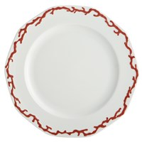 Mottahedeh Barriera Corallina Red Dinner Plate