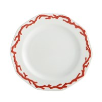 Mottahedeh Barriera Corallina Red Bread & Butter Plate