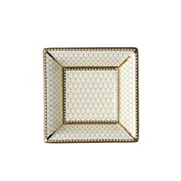 Halcyon Days Antler Trellis Ivory Square Tray