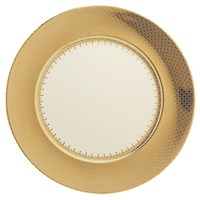 Mottahedeh Gold Lace Charger / Presentation Plate
