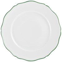 Raynaud Touraine Double Filet Green Charger / Presentation Plate