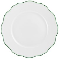 Raynaud Touraine Double Filet Green Dessert Plate