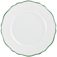 Raynaud Touraine Double Filet Green Dinner Plate
