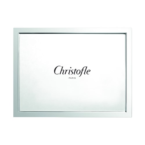 Christofle Uni Silverplated Diploma Frame