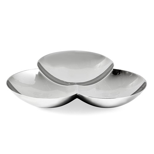 Christofle Meteores Stainless Steel Bowl
