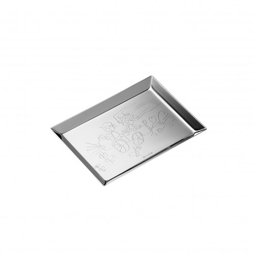 Christofle Uni Silverplated Vide Poches Tray