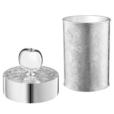 Christofle Jardin d'Eden Silverplated Two-Piece Desk Set