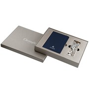 Christofle Silverplated Coffret Jardin Parisien Bookmark & Notebook Gift Set