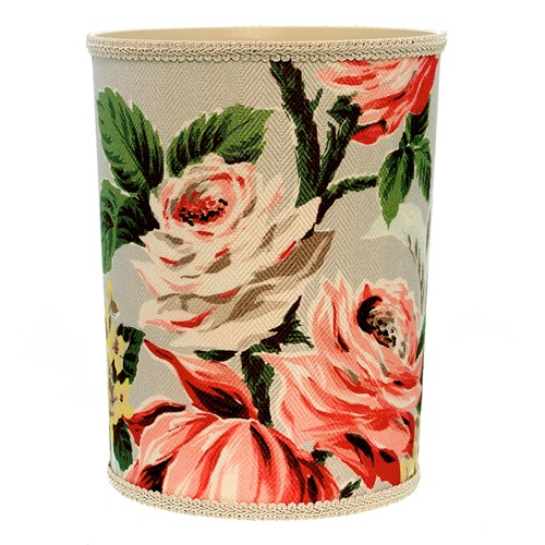 Bouquet of Roses Wastebasket & Tissue Box Cover