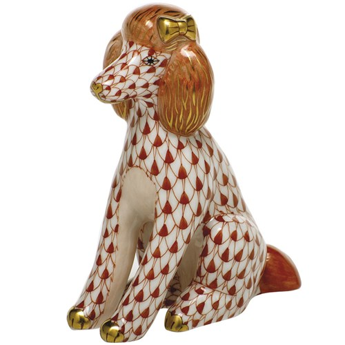 Herend Poodle, Rust