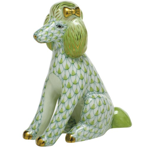 Herend Poodle, Key Lime
