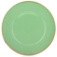 Anna Weatherley Contemporary Charger, Mint Green