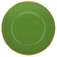 Anna Weatherley Contemporary Charger, Green