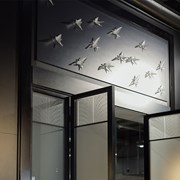 Lalique Swallow Wall Sculptures