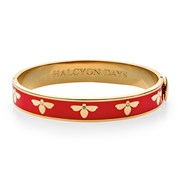 Halcyon Days Bee Hinged Bangles