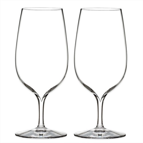 Waterford Elegance Collection Water Glass, Pair