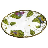 Anna Weatherley Exotic Butterflies Oval Platter, Medium