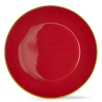 Anna Weatherley Charger, Crimson
