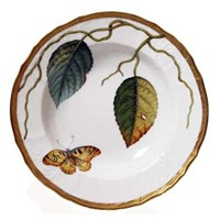 Anna Weatherley Antique Forest Leaf Rim Soup Bowl