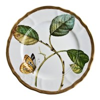 Anna Weatherley Antique Forest Leaf Salad Plate