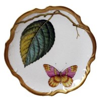 Anna Weatherley Antique Forest Leaf Bread & Butter Plate