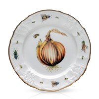 Anna Weatherley Antique Vegetables Salad Plate, Onion