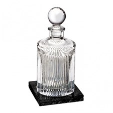 Waterford Aras Decanter with Marble Coaster