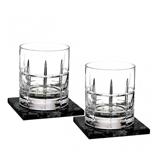 Waterford Cluin Collection Double Old Fashioned, Pair