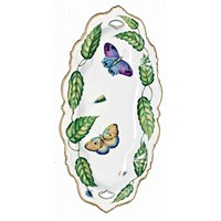 Anna Weatherley Exotic Butterflies Oval Platter, Large