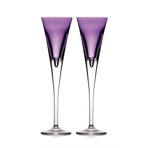 Waterford W Collection, Heather Flute, Pair