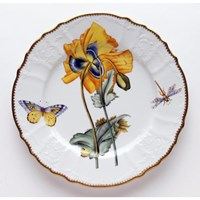 Anna Weatherley Mimosa Dinner Plate, Yellow Poppy