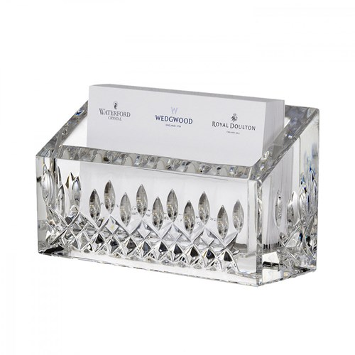Waterford Lismore Essence Business Card Holder
