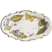 Anna Weatherley Morning Glory Round Serving Tray