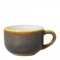 Art Glaze Flamed Caramel Coffee Cup