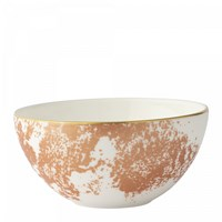 Royal Crown Derby Crushed Velvet Copper Bowl, Medium