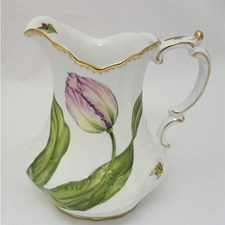 Anna Weatherley Pink Tulips Pitcher