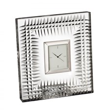 Waterford Lismore Diamond Bedside Clock