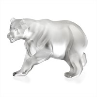 Lalique Bear Sculpture