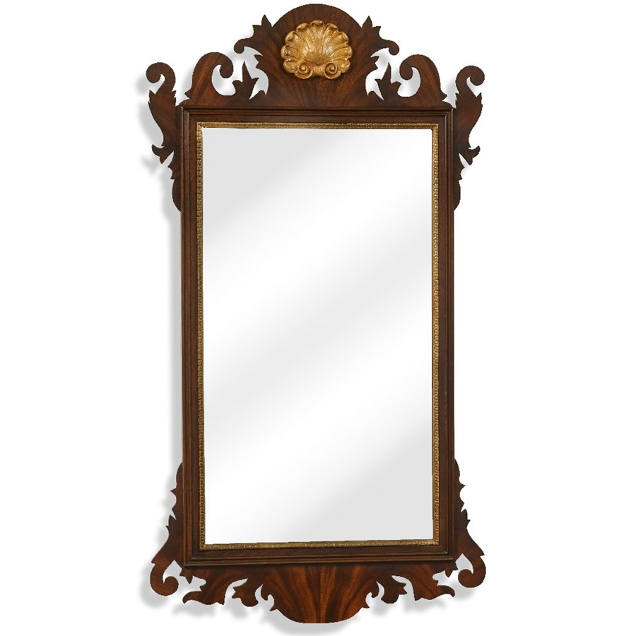 Mirrors For Home Decor: Mahogany Chippendale Mirror