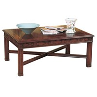 Mahogany Rectangular Cocktail Table