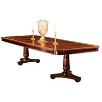 Mahogany Regency Dining Table