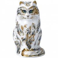 Royal Crown Derby Fifi the Cat Paperweight