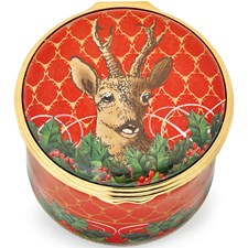 "Halcyon Days ""Rudolph the Red-Nosed Reindeer"" Music Box"