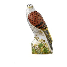 Royal Crown Derby Kestrel Paperweight